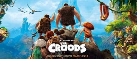 """Film d'animation """"The Croods"""". DreamWorks 2013."""