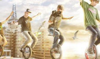 Unicycle freestyle, le monocycle de l'extrême.