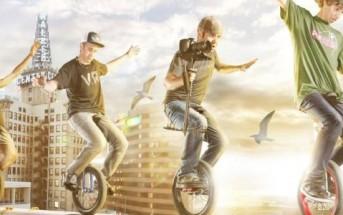 Unicycle Freestyle : vidéo monocycle de l'extrême par Devin Graham