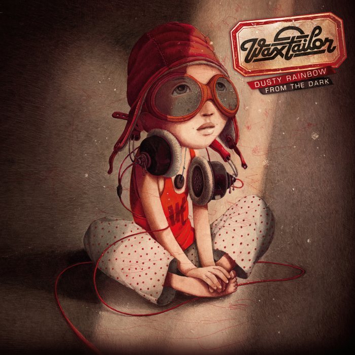 "Pochette de l'album ""Dusty Rainbow from the-dark"" de Wax Tailor (Cover)"