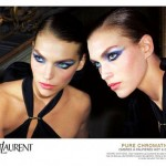 Arizona Muse : campagne Yves-Saint-Laurent Pure Chromatics