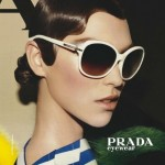 Arizona Muse campagne Prada printemps-été 2011