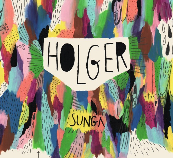 Holger - Sunga. Pochette album. Cover.