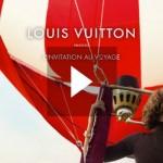 louis vuitton presente : L'invitation au voyage. Vidéo avec Arizona Muse.