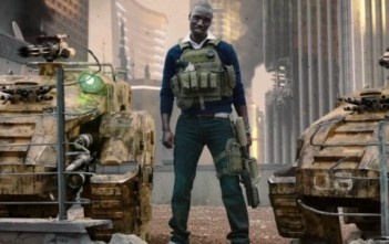 "Omar Sy dans la bande-annonce de Call of Duty : Black Ops 2. ""Surprise"" - Official Live-Action Trailer."