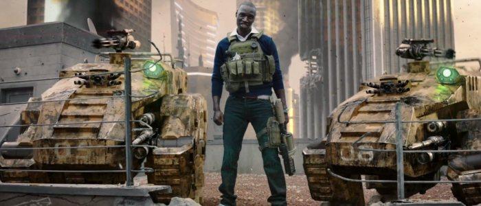 """Omar Sy dans la bande-annonce de Call of Duty : Black Ops 2. """"Surprise"""" - Official Live-Action Trailer."""
