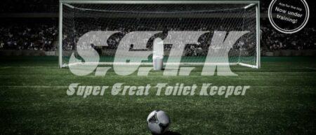 Super Great Toilet Keeper : des toilettes gardien de but au Japon pour TOTO