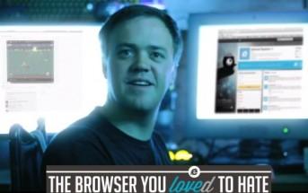 IE Sucks : le geek qui déteste Internet Explorer [Pub auto dérision IE 10]