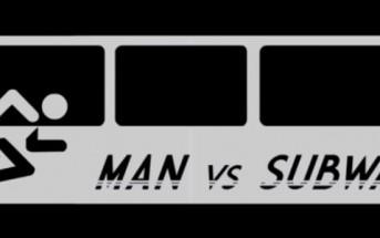 Man vs Subway : l'homme qui va plus vite que le métro [course défi]
