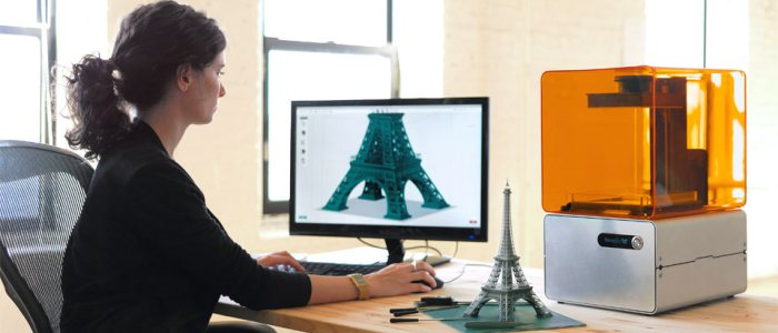 L'imprimante 3D HD Form1 de Formlabs