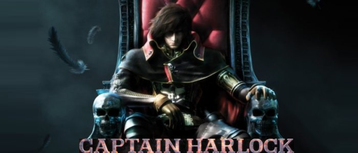 Albator 2013, film d'animation en 3D. Space pirate Captain Harlock.