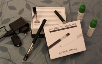 Cigarette électronique Alter Smoke AlterKit StarSmart Crystal Edition Black
