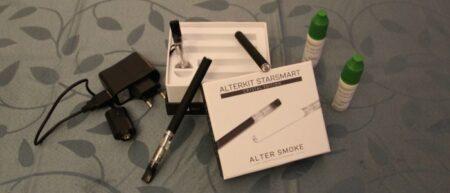 Cigarette électronique Alter Smoke AlterKit StarSmart Crystal Edition Black