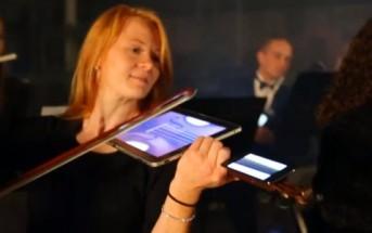 Digital Orchestra : Beethoven joué avec des iPads et des iPhones