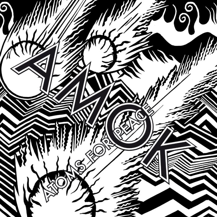 atoms for peace : pochette album amok cover