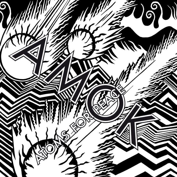 atoms for peace : pochette album amok cover