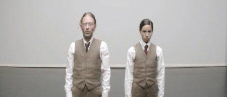 Clip Atoms For Peace : Ingenue. danse de Tom York et Fukiko Takase.