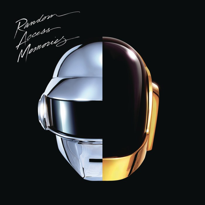 Pochette Daft Punk Random Access Memories. Cover nouvel album 2013.