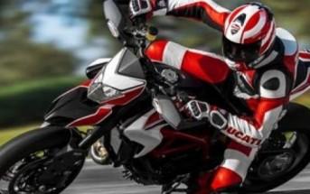 Nicky Hayden : frissons garantis avec l'Hypermotard Ducati !