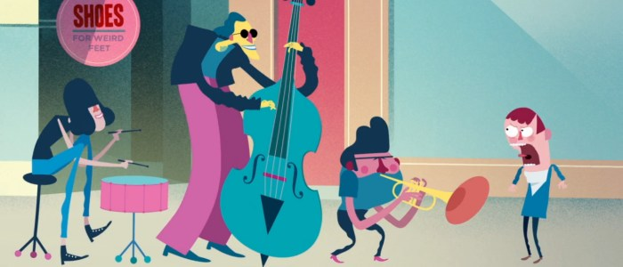 Jazz that nobody asked for : court-métrage d'animation musical par Benny Box.