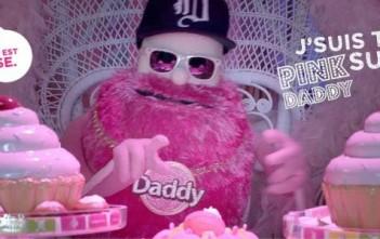 Pink Daddy, le rappeur mascotte de la pub sucre daddy