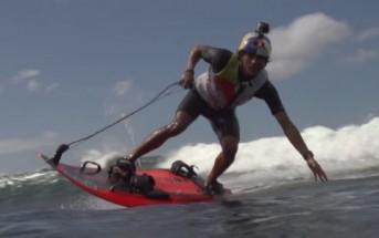 Jet Surf : planche de surf avec moteur de Jet Ski [Xtreme video]