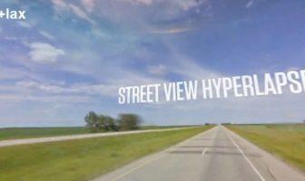 Vidéo hyperlapse google street view Teehan+Lax