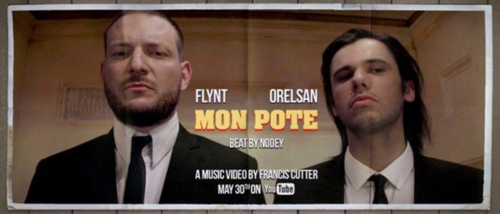 """Flynt et Orelsan se la jouent Pulp Fiction dans le clip """"Mon pote"""""""