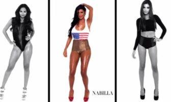 Nabilla danse sexy dans le clip girlz de make the girl dance