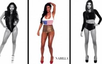Nabilla danse sexy dans le clip GIRLZ de MTGD ft. YO Majesty