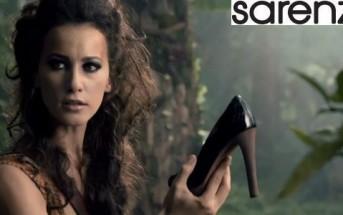 Pub TV Sarenza, la jungle : la chasse aux chaussures est lancée !