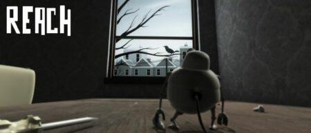 Reach : court-métrage d'animation de Luke Randall. Robot amoureux d'un pigeon.