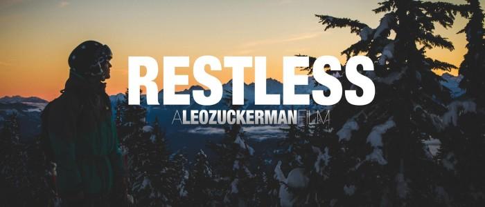 Restless : court-métrage ski freestyle et freeride par Leo Zuckerman