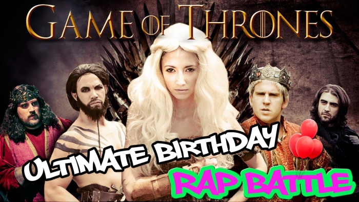 Game Of Thrones rap battle parodie clip hip-hop