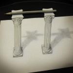 11_dessin_3d_pencil_on_columns_Alessandro_Diddi