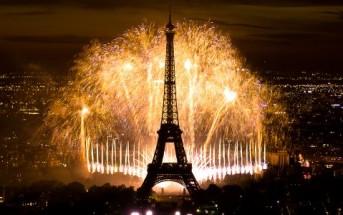 Le feu d'artifice du 14 juillet 2013 à la Tour Eiffel en vidéo
