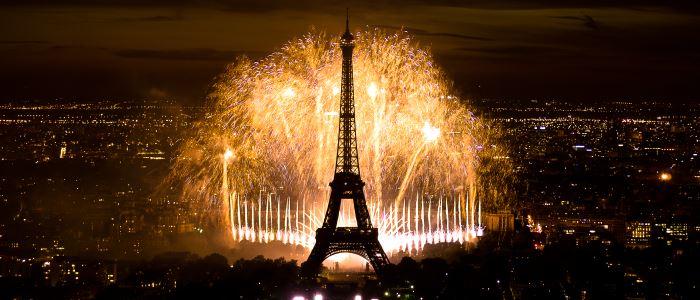 14 juillet 2013 : feu d'artifice Tour Eiffel