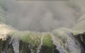 Les chutes du Niagara filmées par un drone DJI Phantom avec une GoPro