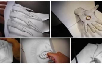 Les dessins en relief d'Alessandro Diddi [Croquis & illusion 3D]