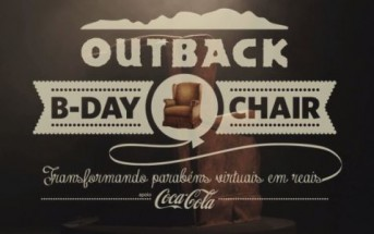 Une chaise connectée qui vous câline via Facebook [Outback B-Day chair]