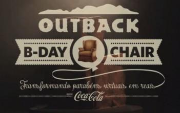 Outback B-day chair : la chaise qui vous caline via facebook