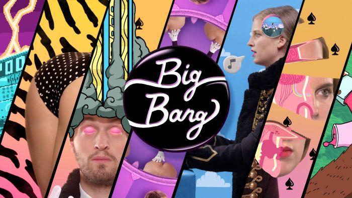 Poom Big Bang : un clip excentrique et coloré