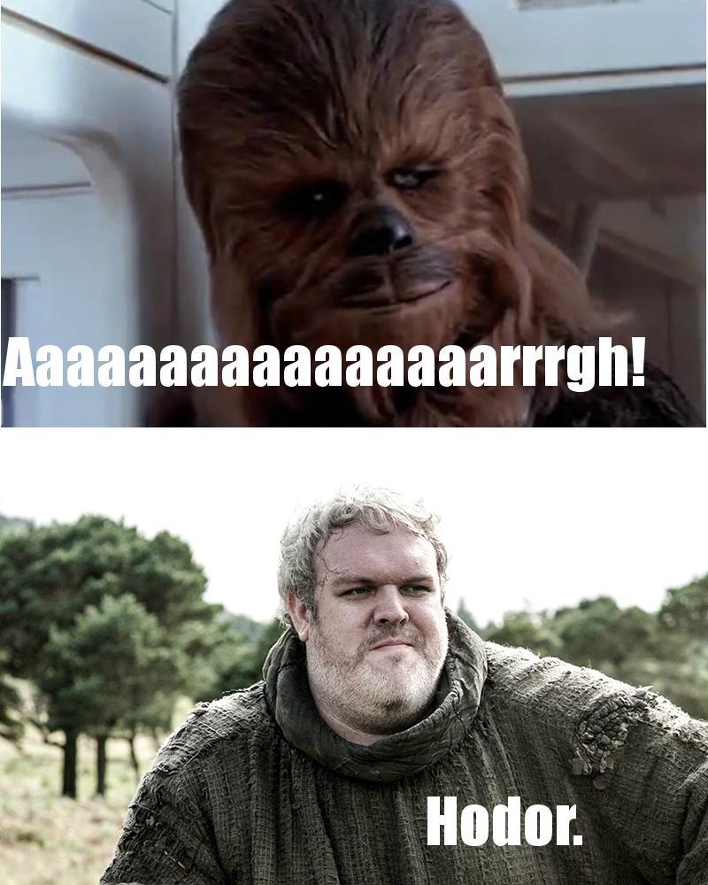 Star Wars vs Game of Thrones : le clash en memes - Images ...