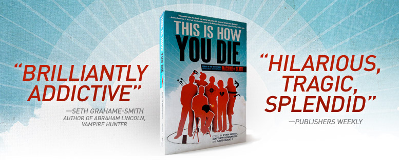 This is how you die : le livre de Ryan North, Matthew Bennardo et David Malki
