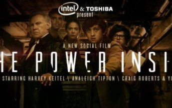 The Power Inside : l'invasion des moustaches aliens par Intel & Toshiba