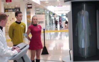 La cabine de téléportation Star Trek en vrai [Caméra cachée Blinkbox]