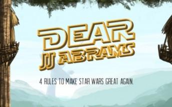 Cher JJ Abrams, voici 4 règles pour rendre Star Wars à nouveau cool