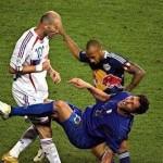 Henrying Zidane coup de tête Materazzi