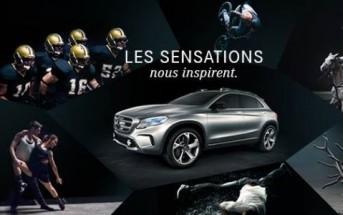 Sensations : nouvelle pub Mercedes-Benz 2013 [Musique Boys Noize]