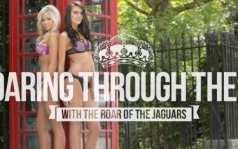 Calendrier sexy 2014 : les cheerleaders des Jaguars en lingerie à Londres